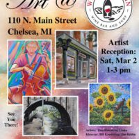 March Poster Wines on Main