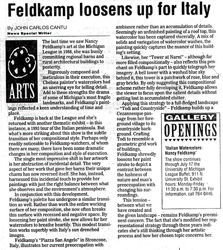 Nancy Feldkamp Exhibit 1994