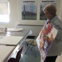 Sandy demo at Paintathon