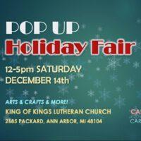 Linda Klenczar in Pop Up Holiday Fair