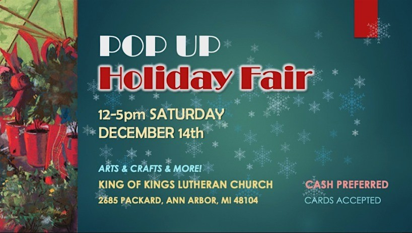 Linda Klenczar in Pop Up Holiday Fair