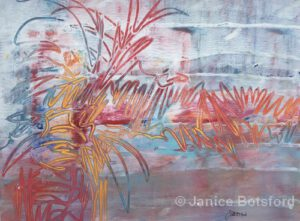 Untamed | Mixed Media | 20x24"