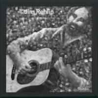 Guitarman | WC & Acrylic | Jim Rehlin