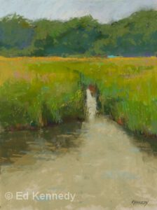 Mill Pond | Pastel | Ed Kennedy