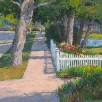 White Picket Fence | Pastel | Ed Kennedy
