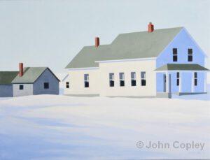 Old House New House | Acrylic | John Copley