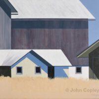 Square Farm | Acrylic | John Copley