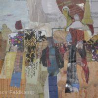 "The Speaker | Mixed Media | 9 x 11"" | $250 | Nancy Feldkamp"