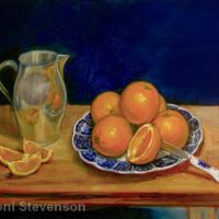 "California Sunshine | Oil | 14 x 18"" | $375 | Toni Stevenson"