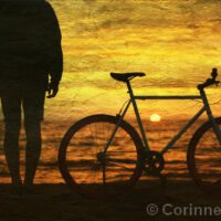 "Sunset | Mixed Media | 12 x 18"" | $325 | Corinne Vivian"