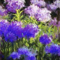 "Sun and Shade | Pastel | 7.5 x 5.5"" | $125 | Carolyn Weins"