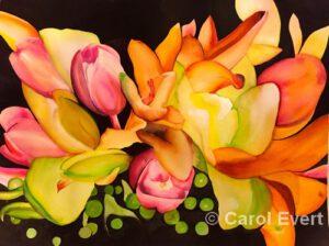 Bridal Bouquet by Carol Evert