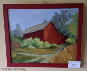 Pentwater Barn | Mary Beth Day