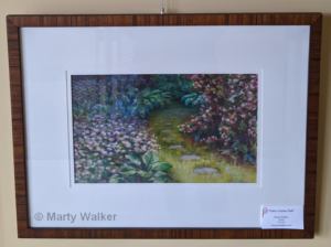 Yellow Sedum Path | Marty Walker