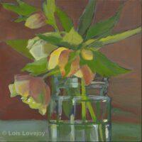 Hellebore | Corona Series 11 | Acrylic | Lois Lovejoy