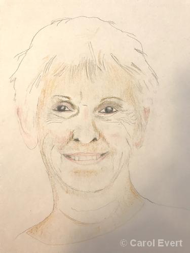 Sketch by Carol Evert