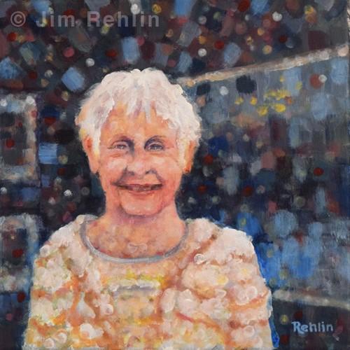 Acrylic by Jim Rehlin